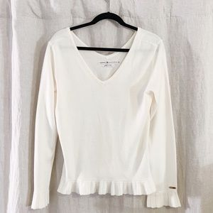 Tommy Hilfiger off white sweater